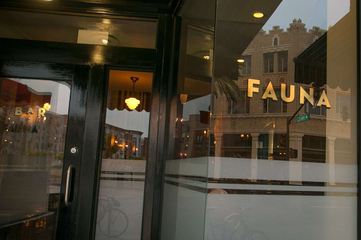 The exterior of Fauna in Oakland, Calif., is seen on Friday, November 16th, 2012.