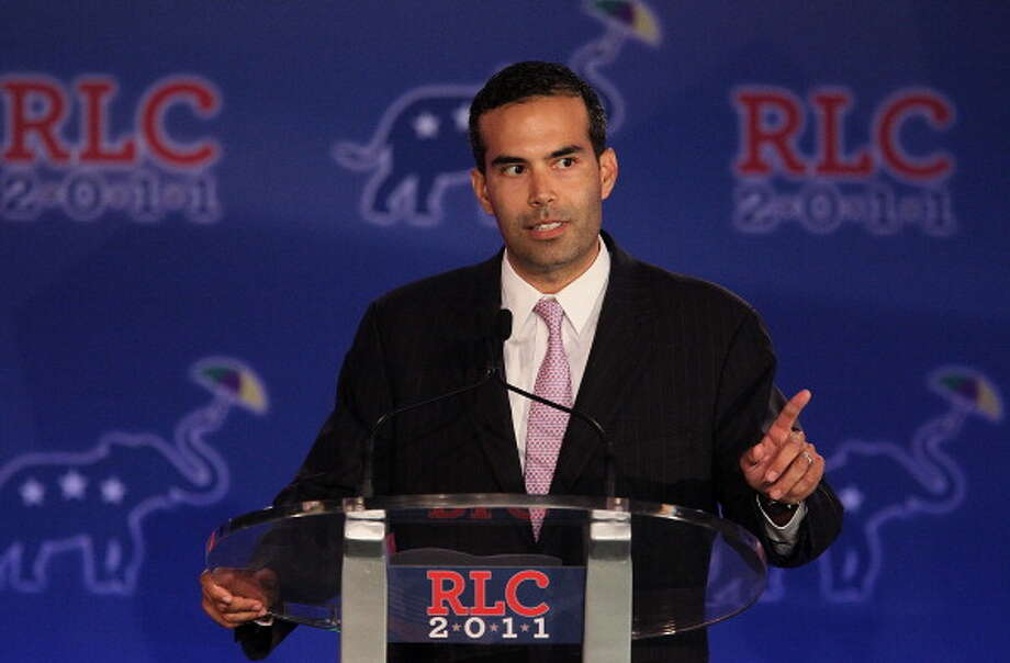 George P. Bush speaks during the 2011 Republican Leadership Conference on June 18, 2011 in New Orleans, Louisiana. The 2011 Republican Leadership Conference features keynote addresses from most of the major republican candidates for president as well as numerous republican leaders from across the country. Photo: Justin Sullivan, Getty Images / 2011 Getty Images