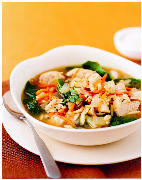 Good Housekeeping recipe for Turkey Escarole Soup. Photo: Tara Donne