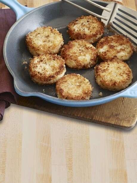 Country Living recipe for Crispy Rosemary Potato Cakes. Photo: Kana Okada