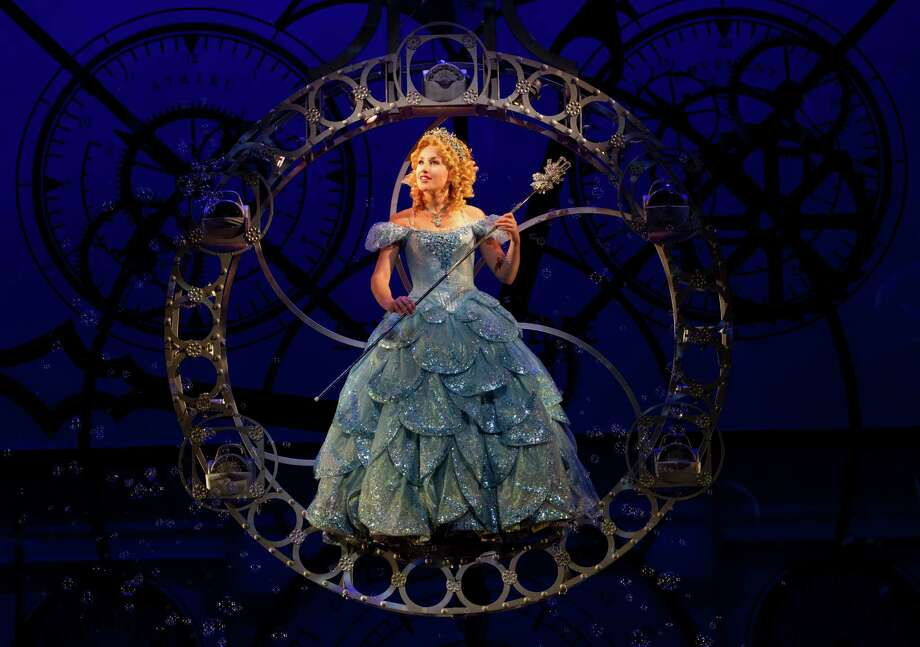 Jeanna de Waal in the Broadway touring production of Wicked. (Joan Marcus) Photo: Joan Marcus