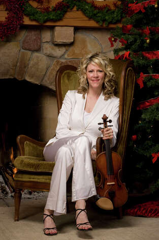 Natalie MacMaster performs both traditional and contemporary music of Cape Breton, along with some music of the season on Dec. 8, 2012, at The Egg in Albany.