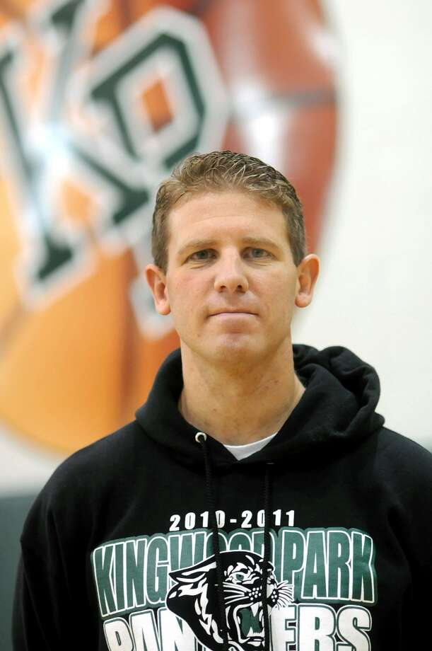 Kingwood Park Head Boys Basketball Coach Dominic Amorosa Photo: Jerry Baker, Freelance