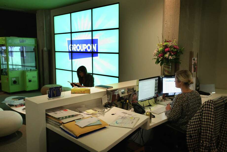 10. Chicago: Chicago ranked fifth for performance, seventh for support, eighth for output and ninth for differentiation from Silicon Valley. It's home to such tech companies as Groupon whose headquarters is shown here on June 10, 2011. Photo: Scott Olson, Getty Images / 2011 Getty Images