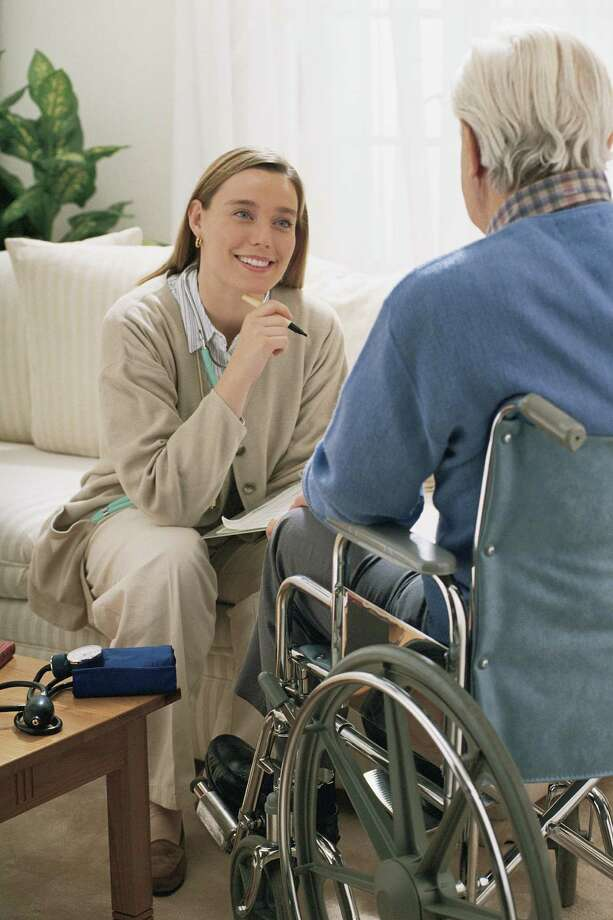 Home health-care workers include many disciplines, including nurses, physical and occupational therapists, and social workers.