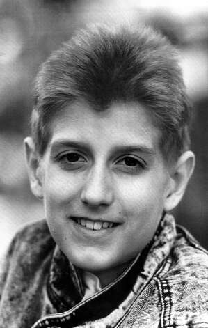 Eighteen-year-old Ryan White, shown here in a 1988 file photo, died April 8, 1990, of complications from AIDS. Ryan contracted the disease from a blood-clotting agent used to treat his hemophilia in December, 1984, when he was 13 years old. His battle for acceptance won hearts and better understanding of the disease across the nation. Photo: MARY ANN CARTER, AP / EXPRESS-NEWS FILE PHOTO