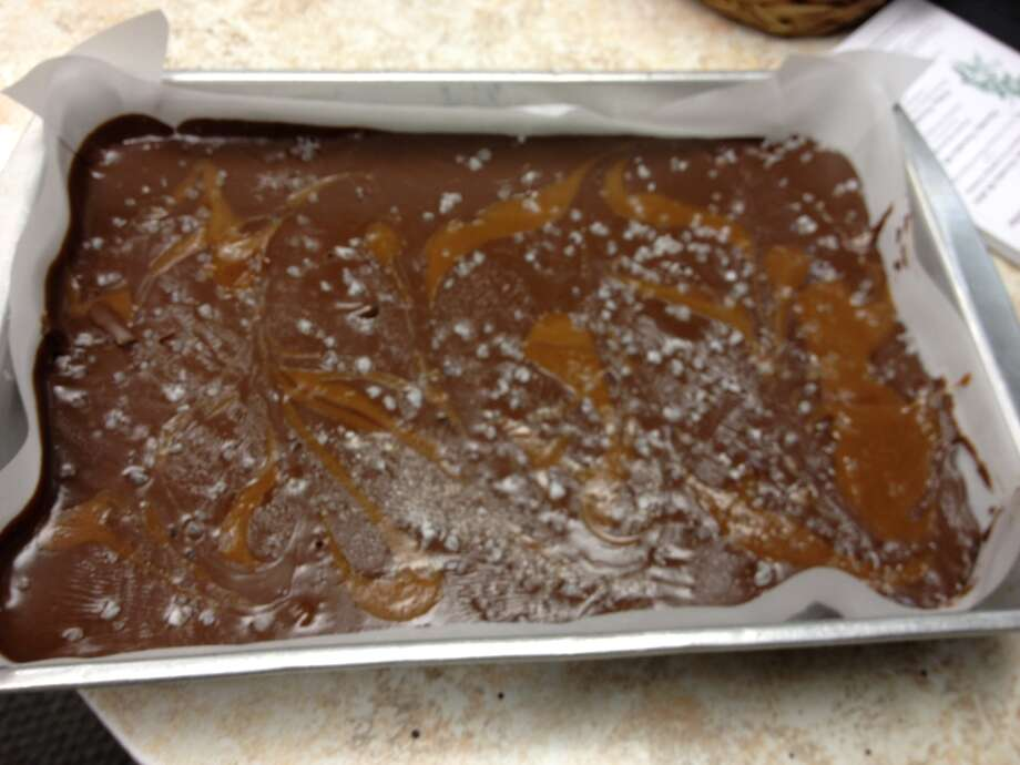 Chocolate salted caramel fudge from The Candy Co. of Saratoga. For gift guide story in food section Nov. 22, 2012.