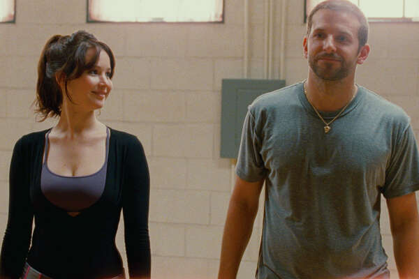 "Jennifer Lawrence and Bradley Cooper star in ""Silver Linings Playbook."""