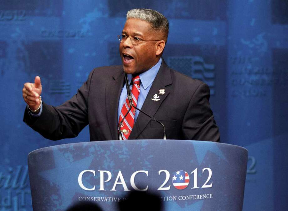 Rep. Allen West of Florida, who is popular with the conservative wing of the Republican Party, could land a job on a cable news show. Photo: J. Scott Applewhite, STF / AP