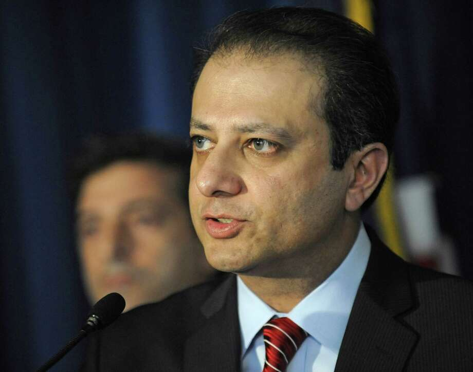U.S. Attorney Preet Bharara says the insider trading cased involved an Alzheimer's drug. Photo: Louis Lanzano, FRE / FR77522 AP