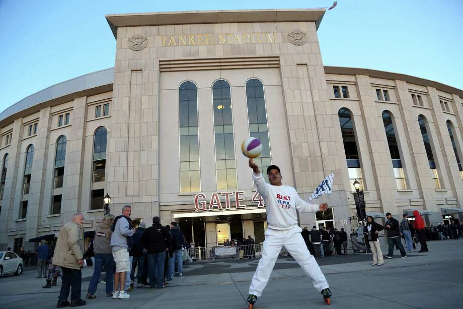 Yankee Stadium could get even richer with the team's $500 million agreement with News Corp. Photo: Diane Weiss, MBR / Detroit Free Press
