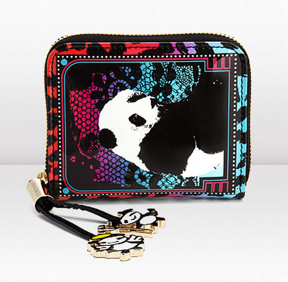 Nicolino wallet by artist Rob Pruitt for Jimmy Choo, $625.00