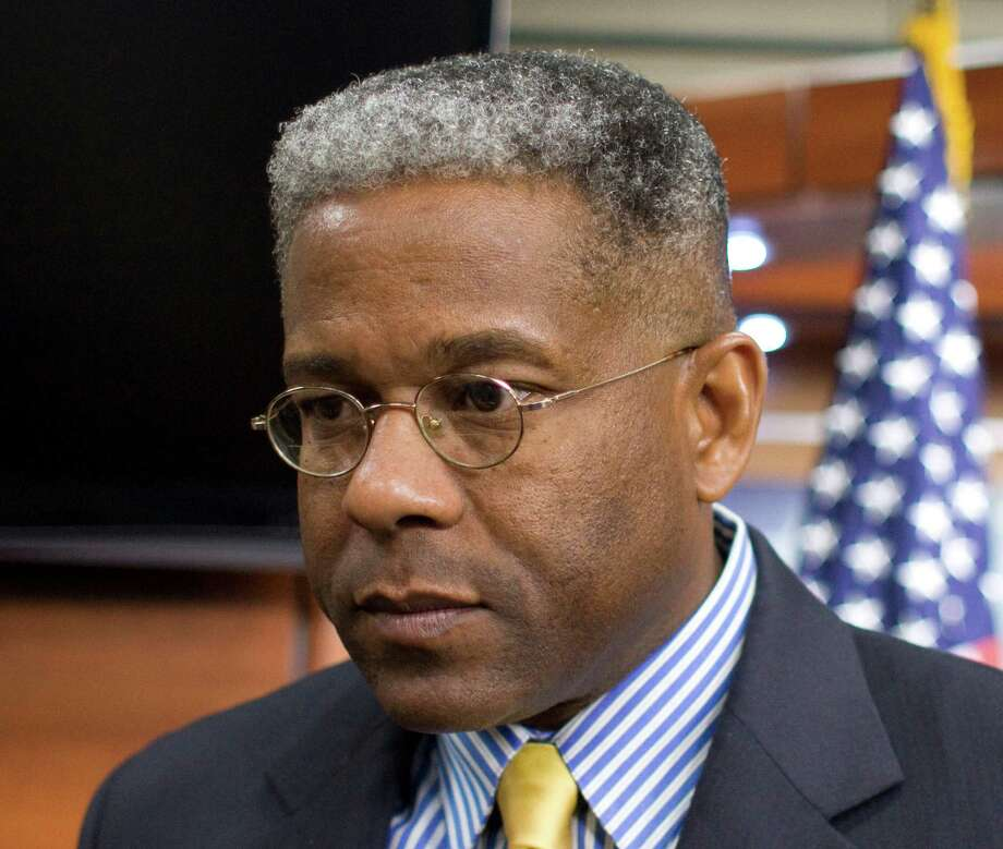 """Veering away from a direct comparison, former Florida representative and tea party champion Allen West opted to go for a """"Neville Chamberlain"""" comparison, saying that Obama had blood on his hands following the destruction of a Malaysian Airlines plane over Ukraine.Source: Business Insider Photo: Harry Hamburg, FRE / FR170004 AP"""