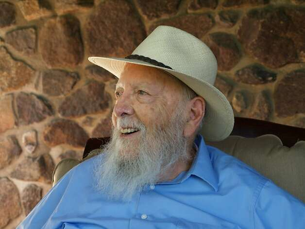 Pulitzer Prize winner Herman Wouk, 97. Photo: Liza C. Stein / SF