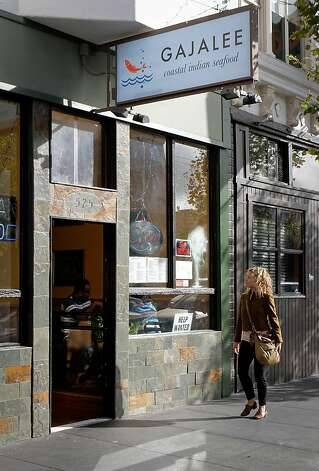 Gajalee on Valencia Street in S.F. offers plenty of robust non-fish options for the seafood averse. Photo: John Storey, Special To The Chronicle