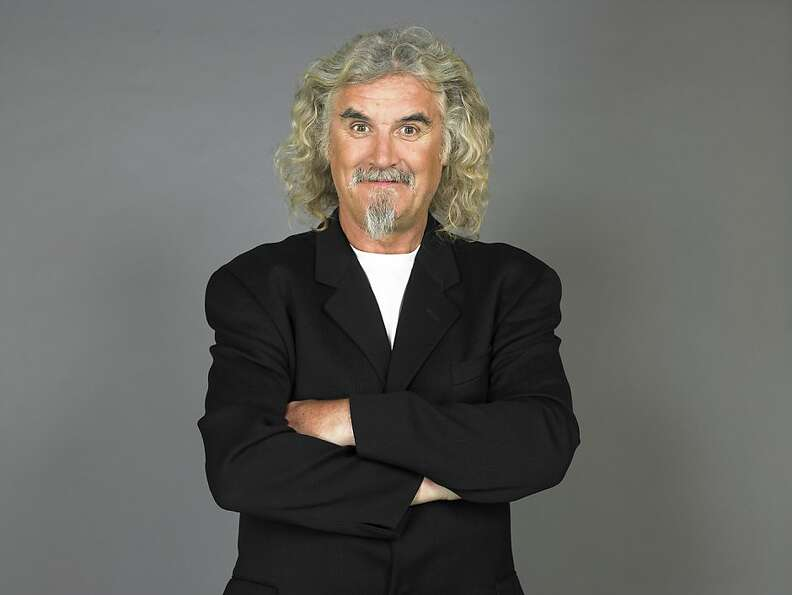 Billy Connolly brings his stand-up act to Marines Memorial Theatre starting Tuesday, but be warned,