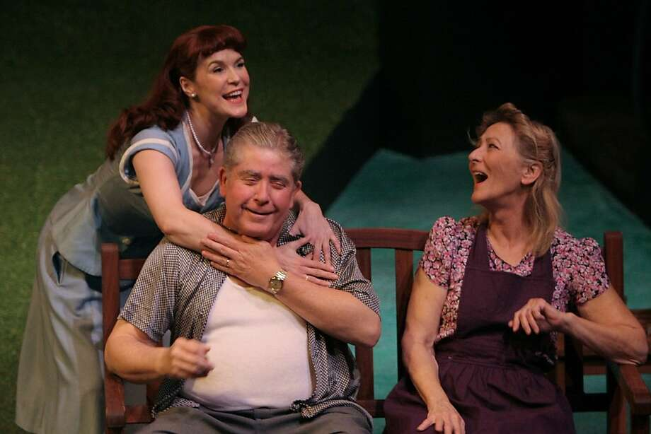 "The Keller family pays a price for selling parts to the military in ""All My Sons."" Photo: Terry Sullivan"