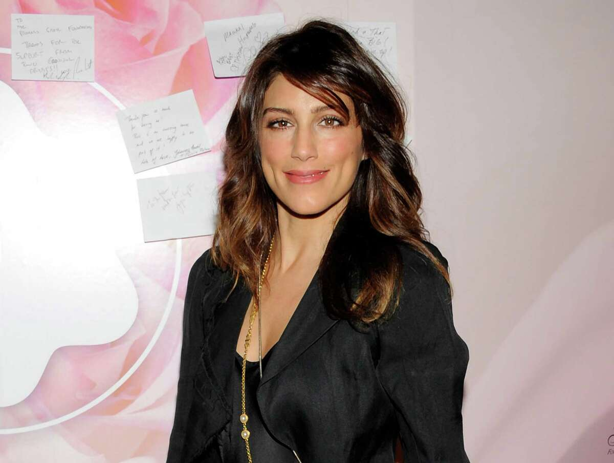 This Nov. 1, 2011 file photo shows actress Jennifer Esposito attending the Princess Grace Foundation Awards gala at Cipriani 42nd Street in New York. Esposito is blasting CBS for sidelining her from the show.