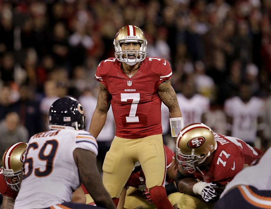 "Colin Kaepernick says the right things: ""I don't want there to be a controversy. I just want to do whatever's best for this team."" Photo: Brant Ward, The Chronicle"