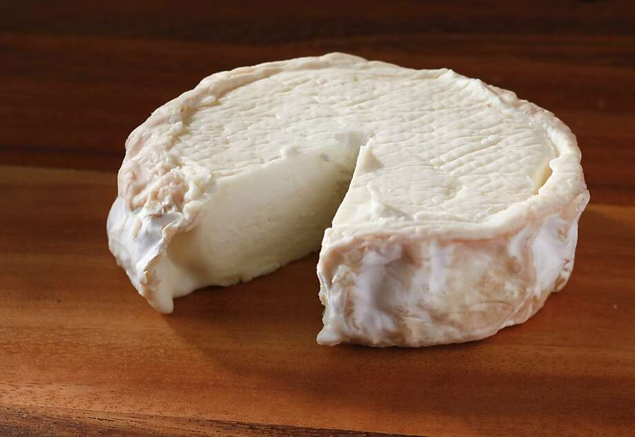 Fraga Farm's Foster Lake cheese is a Camembert- style goat cheese with a delicate aroma. Photo: Craig Lee, Special To The Chronicle
