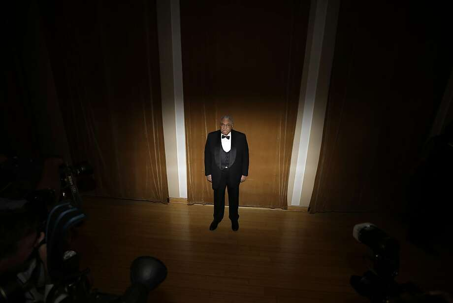 Actor James Earl Jones poses for photographers before the Marion Anderson Award Gala at the Kimmel Center for the Performing Arts, Monday, Nov. 19, 2012, in Philadelphia. Jones has been named the 2012 recipient of the Marian Anderson Award, which honors artists whose leadership benefits humanity. Photo: Matt Slocum, Associated Press