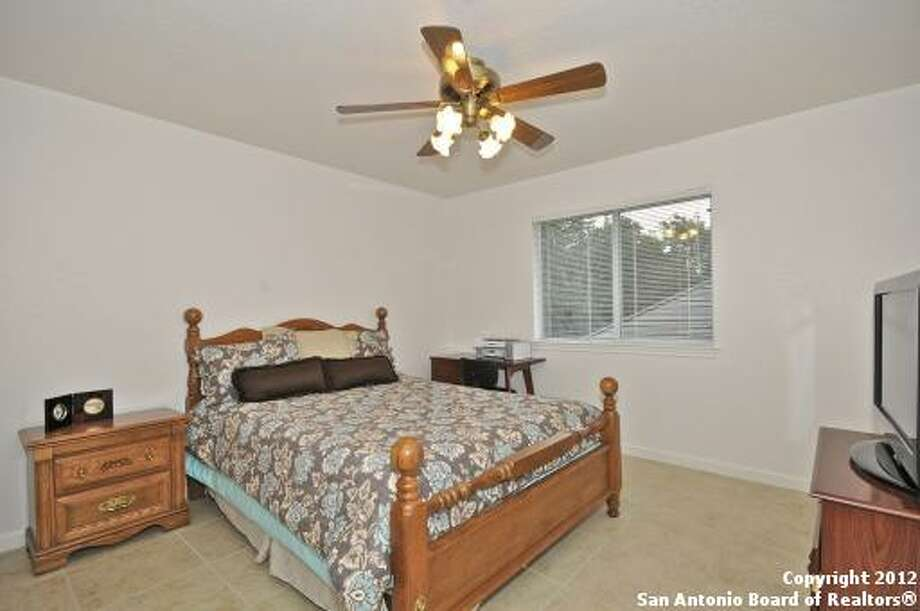 Each of the bedrooms is spacious and has floors of tile, allowing for easy cleanup.