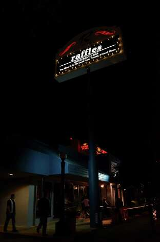 Located off 410, Raffles caters to a diverse crowd of dance lovers in a classy setting that also offers live music. Robin Johnson Photo: Ro