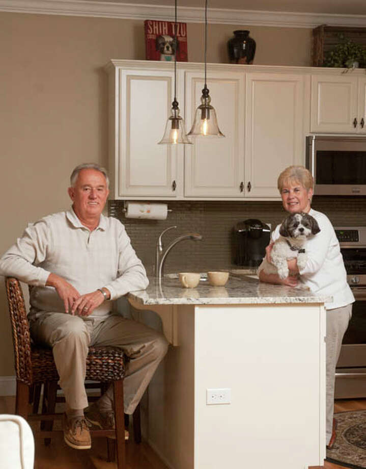 John and Kathy Bourdeau got rid of all their old stuff and bought their dream home in North Greenbush. Read their story here. Photo: Photo By Mark Samu/Life@Home