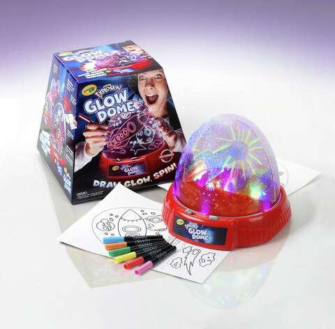 Longfellow's No. 2 - Crayola Color Explosion Glow Dome Photo: Crayola / handout email