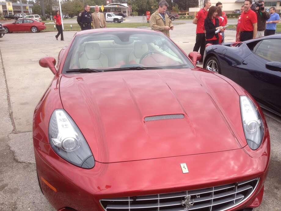 This is a photo of the front of a Ferrari California. Photo: Dan X. McGraw