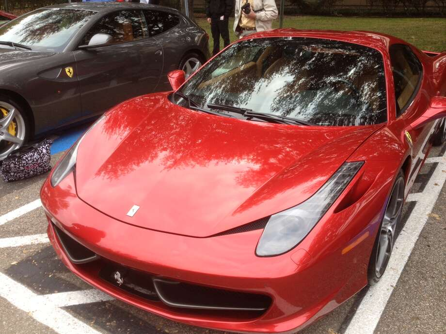 A view of the Ferrari 458 Spider. Photo: Dan X. McGraw
