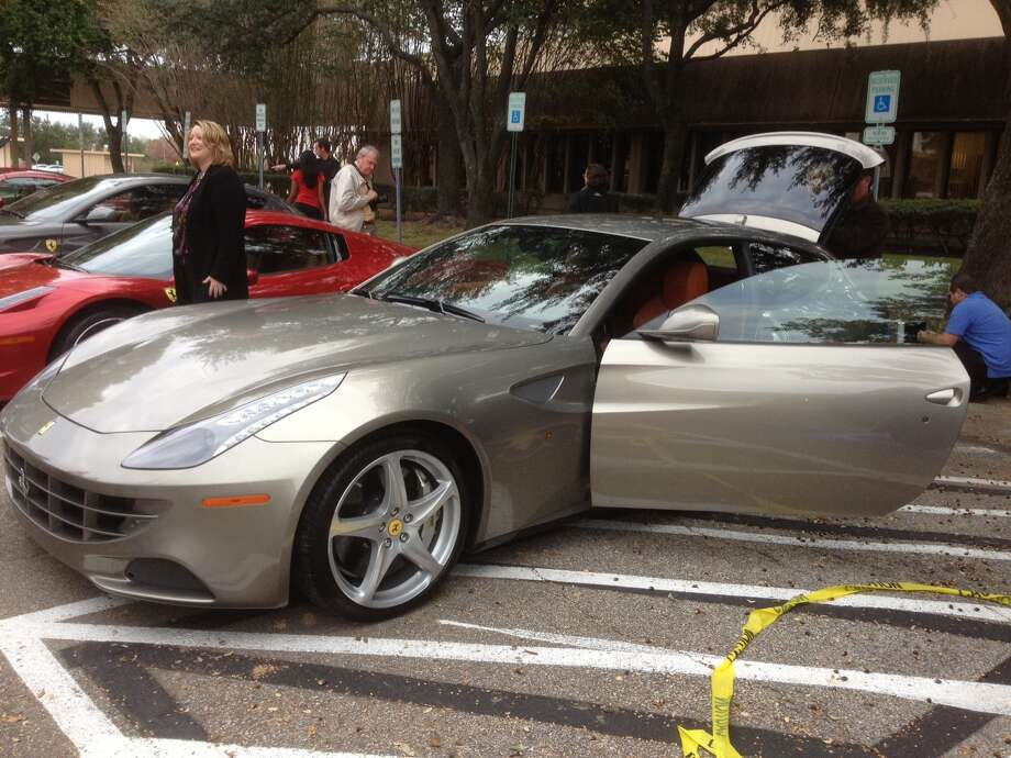 An exterior shot of the Ferrari FF, the company's touring option. Photo: Dan X. McGraw