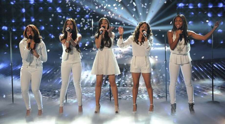Fifth Harmony performs live on THE X FACTOR airing Wednesday, Nov. 14 on FOX. CR: Ray Mickshaw / FOX.