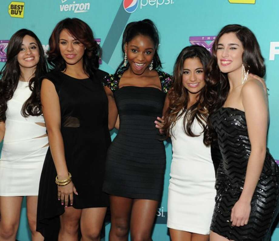 Finalists (L-R) Ally Brooke, Camila Cabello, Normani Hamilton, Dinah Jane Hansen and Lauren Jauregi of Fifth Harmony (formerly Lylas and 1432) during arrivals for THE X FACTOR FINALIST PARTY Season Two at The Bazaar at The SLS Hotel Beverly Hills on Monday, Nov. 5 in Beverly Hills, CA. CR: Frank Micelotta/FOX