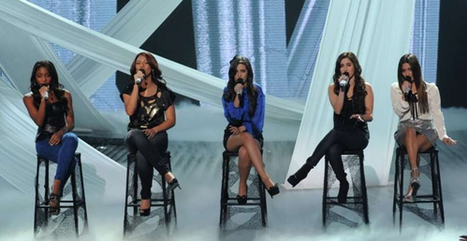 Fifth Harmony performs live on THE X FACTOR, Wednesday, November 7 (8:00-10:00 PM ET/PT) on FOX. CR: Ray Mickshaw / FOX.