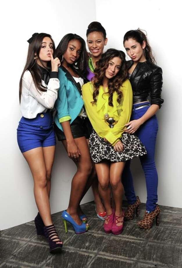 Fifth Harmony (formerly 1432 and Lylas) on THE X FACTOR on FOX. CR: Ray Mickshaw / FOX.