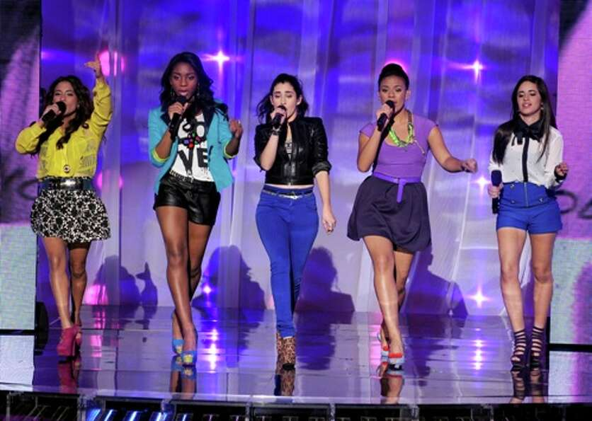Fifth Harmony (formerly 1432 and Lylas) performs live on THE X FACTOR, Wednesday, October 31 (8:00-1