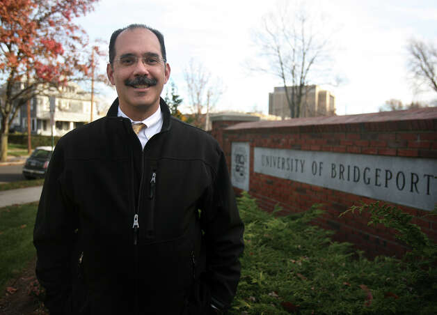 George Estrada, vice president for facilities at the University of Bridgeport, has overseen many improvements at the university. Photo: Brian A. Pounds / Connecticut Post