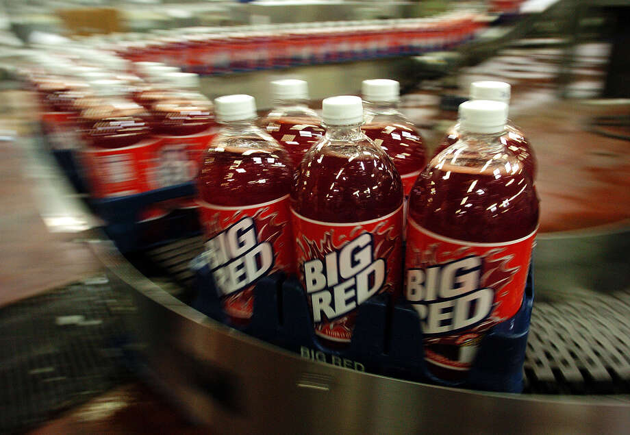 Big Red.  Outsiders may scoff, saying it tastes like liquid bubble gum, but nothing goes better with barbacoa. Photo: KIN MAN HUI, SAN ANTONIO EXPRESS-NEWS / SAN ANTONIO EXPRESS-NEWS
