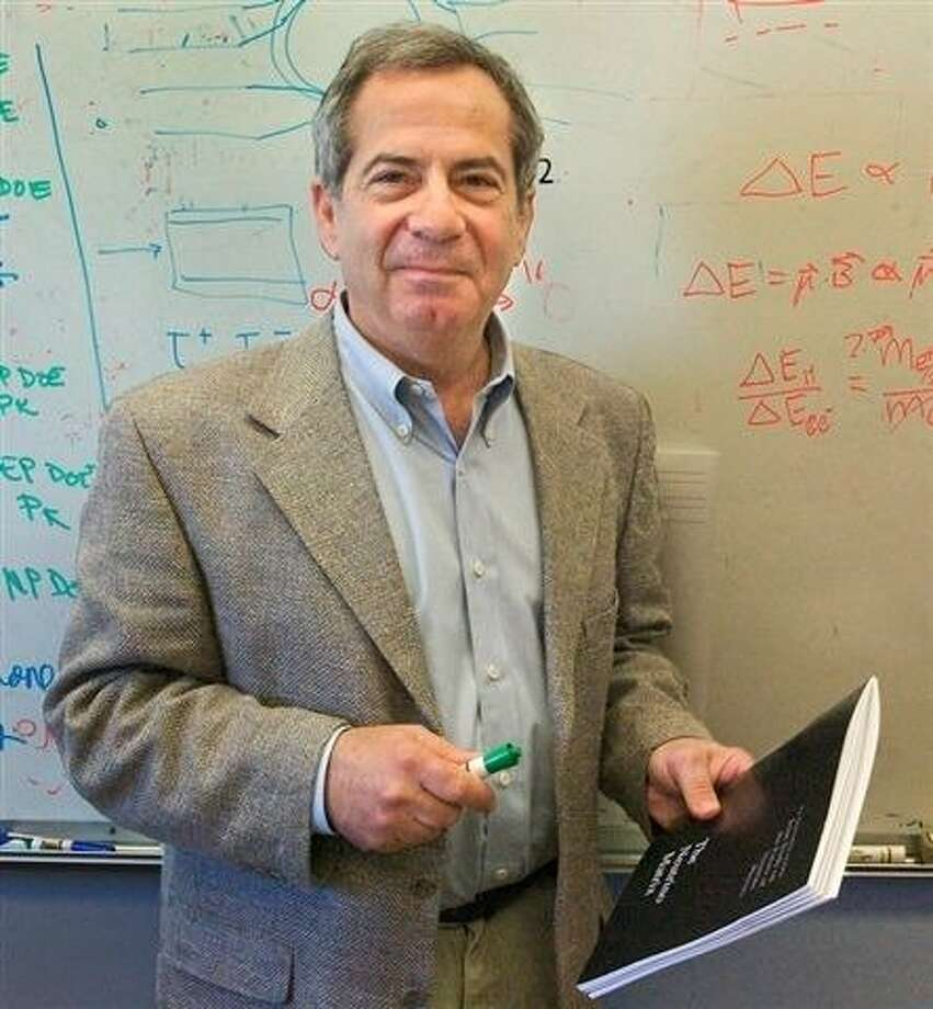 UC Berkeley nuclear physicist Stuart Jay Freedman  investigated the nature of fundamental particles. Photo: Roy Kaltschmidt, Lawrence Berkeley Nat Lab