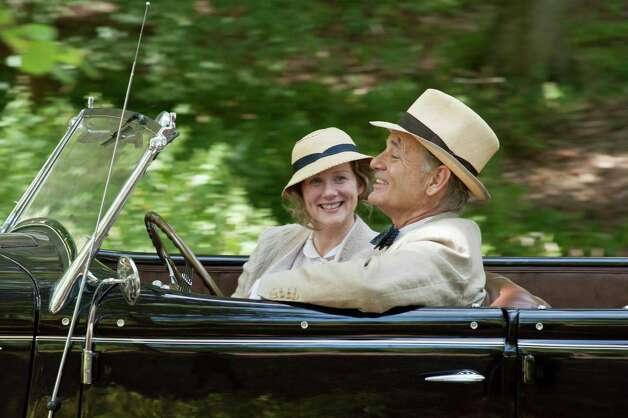 "Laura Linney stars as Daisy and Bill Murray stars as Franklin D. Roosevelt in Roger Michell's historical tale ""Hyde Park On Hudson,"" a Focus Features release. Photo: Nicola Dove"