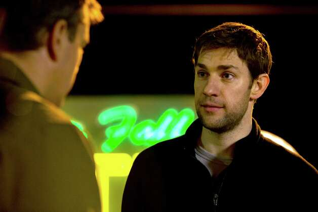 John Krasinski stars as Dustin Noble in Gus Van Sant's Promised Land, a Focus Features release.  Photo by Scott Green. Photo: Scott Green / © Focus Features