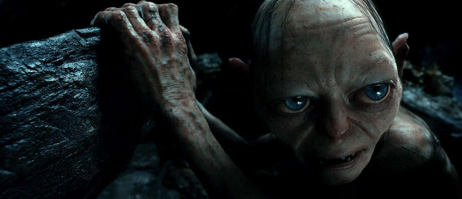 Gollum voiced by Andy Serkis in New Line Cinema?s and MGM's fantasy adventure ?THE HOBBIT: AN UNEXPECTED JOURNEY,? a Warner Bros. Pictures release. Photo: Courtesy Of Warner Bros. Pictures / © 2012 Warner Bros. Entertainment Inc. and Metro-Goldwyn-Mayer Pictures inc.