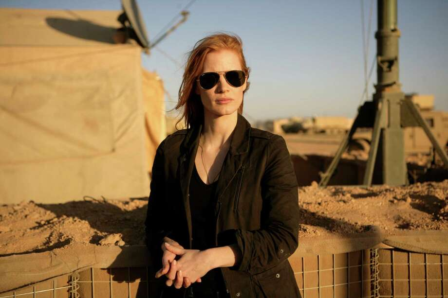 "Outstanding Performance by a Female Actor in a Leading Role:Jessica Chastain, ""Zero Dark Thirty' Photo: Jonathan Olley / © 2012 Columbia Pictures Industries, Inc. All rights reserved."