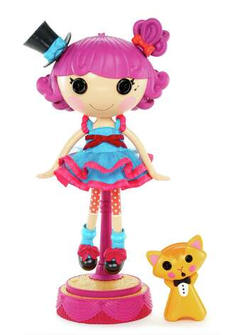 Lalaloopsy Silly Hair Star: Harmony B. Sharp ($69.99/ages 4-plus) Photo: Courtesy