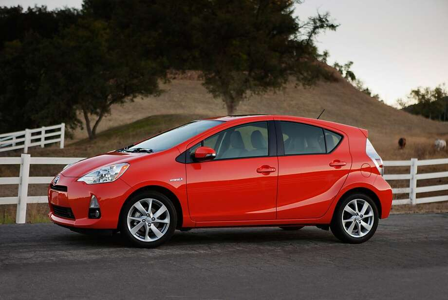 The 2012 Toyota Prius C is a more compact version of Toyota's original Prius hybrid. (Toyota/MCT) Photo: Handout, McClatchy-Tribune News Service