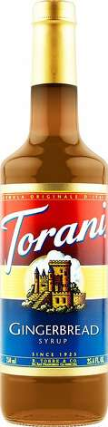 Torani Gingerbread Syrup Photo: Torani/R. Torre & Co.