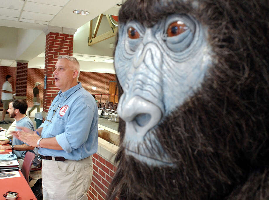 Bigfoot conventions like the Texas Bigfoot Conference in Jefferson, Texas,  draws enthusiasts and researchers of the legendary creature. Photo: D.J. PETERS, AP / AP