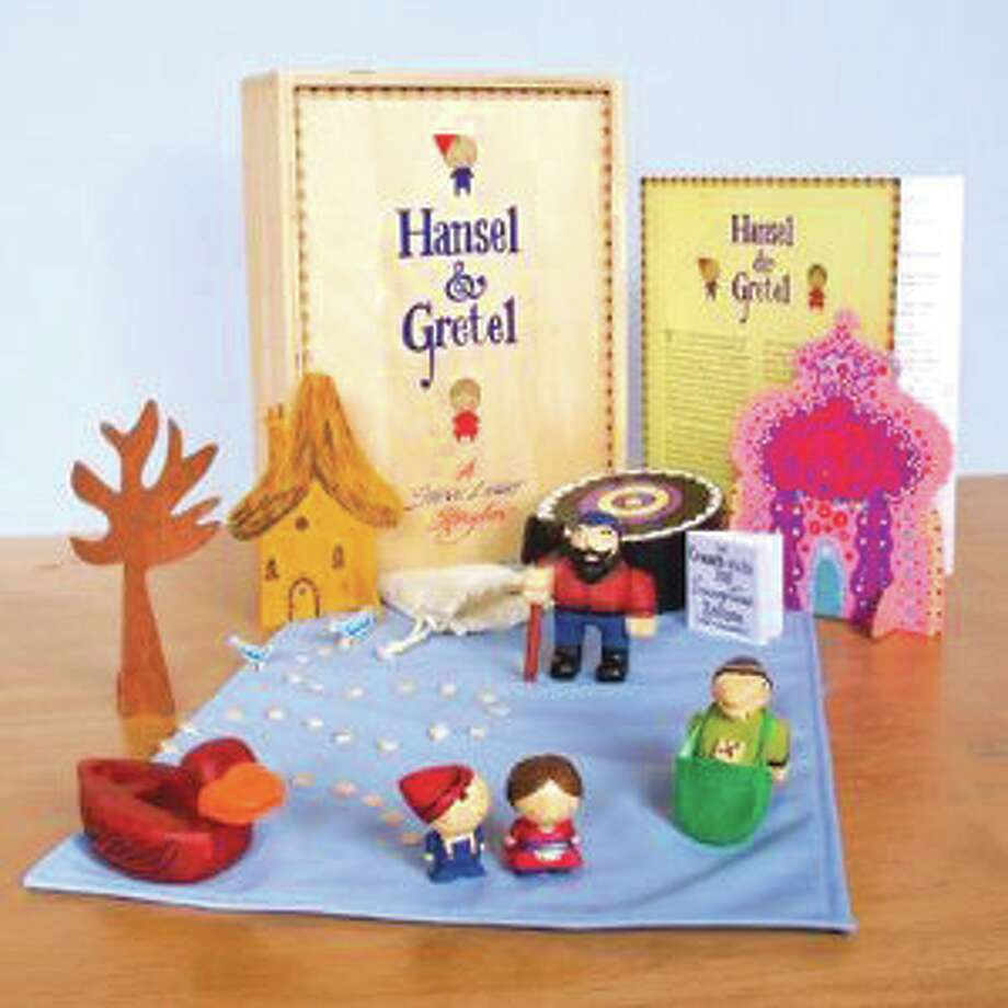 """Hansel and Gretel: A Steve Light Storybox"""