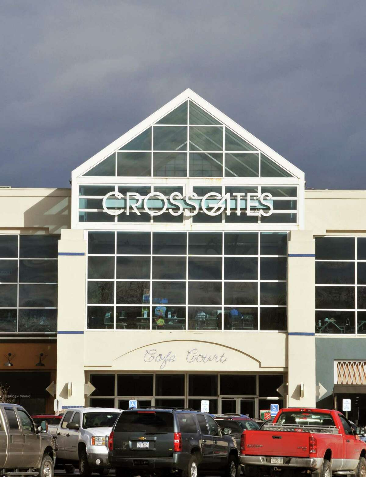 Entrance to Crossgates Mall in Guilderland Thursday afternoon December 3, 2009. (John Carl D'Annibale / Times Union)